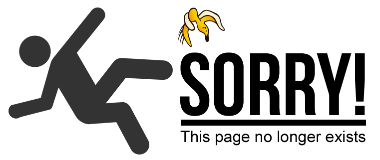 Sorry! This page no longer exists